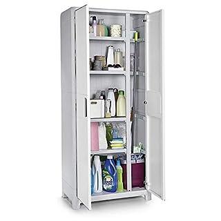 Allibert 224278 XL Pro Tall Cabinet, Ivory, 224280