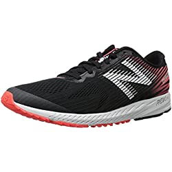 New Balance M1400v5, Zapatillas de Running para Hombre, Negro (Black/Orange), 44 EU