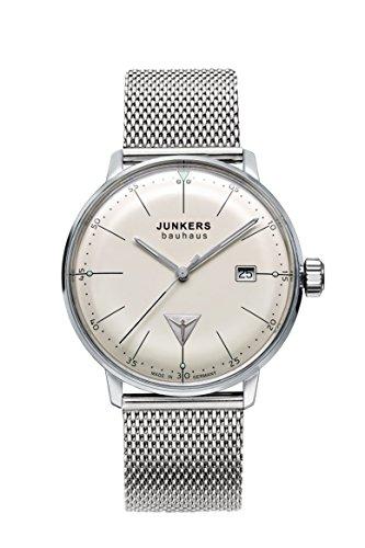 Junkers Herren-Armbanduhr Analog Quarz Edelstahl 6070M5