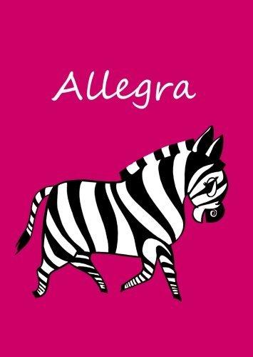 allegra-personalisiertes-malbuch-notizbuch-tagebuch-zebra-a4-blanko