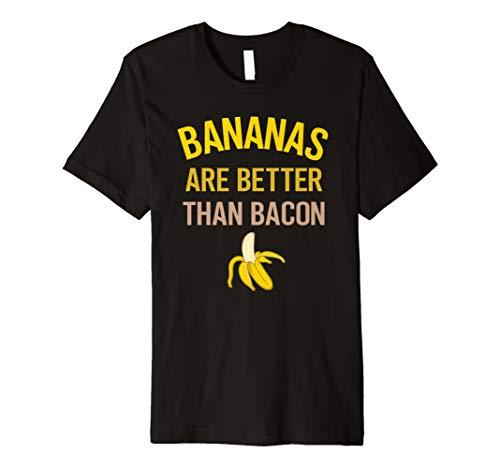 Bananen sind besser als Speck #Vegan T-Shirt -