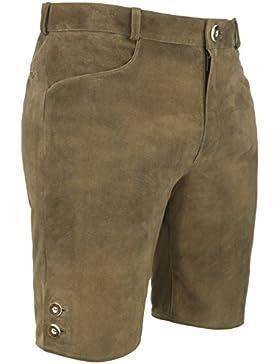 Michaelax-Fashion-Trade Spieth & Wensky - Herren Trachten Lederhose, Dock (009514-0308)