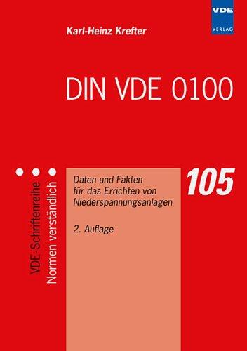 DIN VDE 0100: Daten und Fakten für das Errichten von Niederspannungsanlagen (Überspannungsschutz Daten)