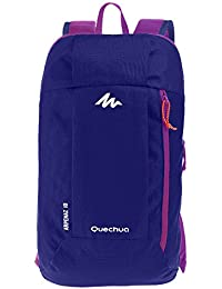 Quechua 10 Ltr Nylon Purple Trekking Backpack