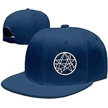 Gameser Necronomicon Logo Casquette de Baseball en Plein air randonnée  Chapeau Plat Snapback, Homme, 0f44ead9f63