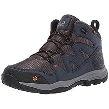 Jack Wolfskin Unisex Kids' MTN Attack 3 Texapore Mid K Wasserdicht High Rise Hiking Shoes, (Night Blue 1010), 8 UK