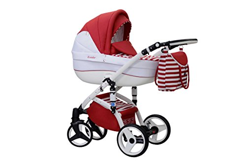 baby-pram-pushchair-stroller-buggy-travel-system-wiejar-evado-white-frame-2in1-t-01