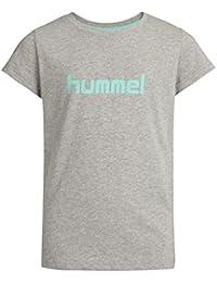 Hummel VENI Camiseta de Niños Gris Gris Talla:10 años (140 cm)