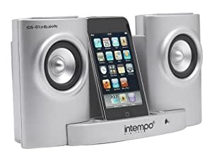 Intempo IDS-01-N-S Silver Metallic Speakers and Docking Station for iPod and Other MP3 Players