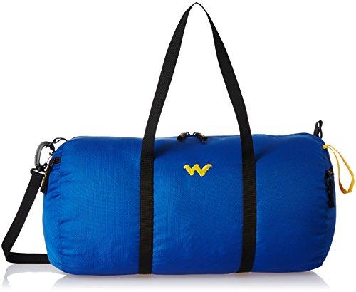 Wildcraft Nylon 30 cms Blue Gym Bag (AM DF 1)