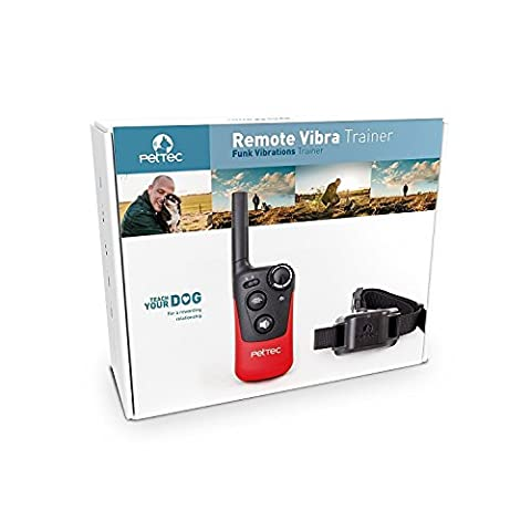 PetTec Remote Vibra Trainer Educational collar with remote control for sound signal or vibration, 250m