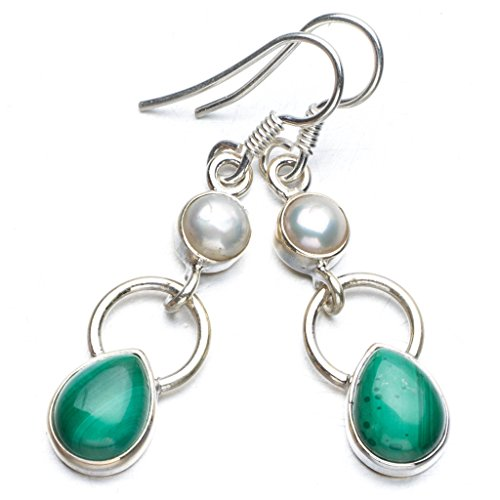 stargemstm-natural-malachite-and-river-pearl-boho-style-925-sterling-silver-drop-earrings-1-1-2
