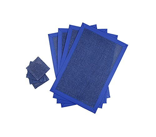 lot-de-4-dessous-de-verre-et-4-sets-de-table-sets-de-tables-rectangulaires-30x45-cm-linge-de-table-d