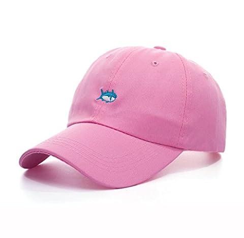 Printemps Automne Unisexe Loisirs Simplicité coton réglable rose broderie de baseball / Casual Sport Outdoor (Patterns Knit Bambini Cappelli)
