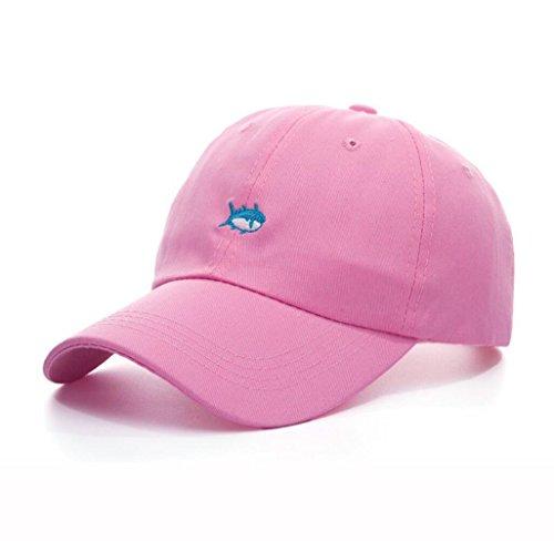 Printemps Automne Unisexe Loisirs Simplicité coton réglable rose broderie de baseball / Casual Sport Outdoor Snapback Casquette avec motif de broderie