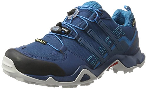 adidas Herren Terrex Swift R Gtx Outdoor Fitnessschuhe, Blau (Blue Night/Blue Night/Mystery Petrol), 42 EU