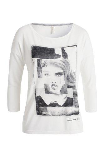 Esprit - t-shirt - imprimé - femme Écru