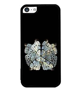 Vizagbeats Butterfly Back Case Cover for Apple Iphone 5C