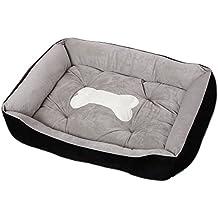 Cama para Perro Gatos Pequeño Grande Mascotas Sofá Lavable (S:60*45*