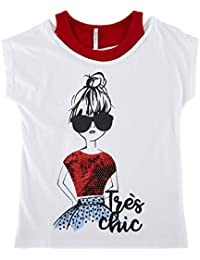Poppers By Pantaloons Girls T-Shirt