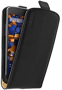 mumbi PREMIUM Leder Flip Case Google Nexus 4 Tasche