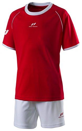 Pro Touch K-Trikot-Set Match - rot/weiß, Größe:140 (Trikots Fußball Pro)