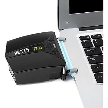 Raffreddatore a Ventola USB Universale Raffreddatore per PC Portabile Ventola Laptop Vacum Fan, dispositivo di raffreddamento del gioco del PC con 3 modalità, rivelazione del tempo di auto raffreddamento Gaming Mate