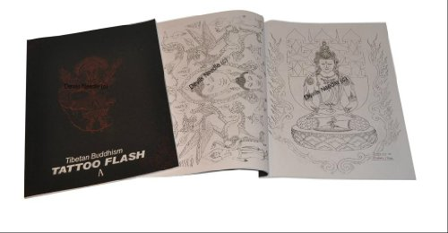 Tattoo Flash Book A4 SIZE -Tibetan Buddhism A (Vol.19)