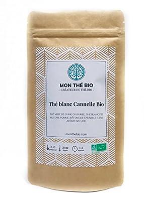 Thé blanc Cannelle BIO - Sachet 100g - certifié agriculture biologique
