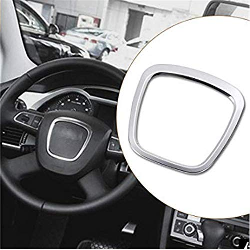 DaFFeng Aluminiumlegierungs-Auto-Lenkrad-Aufkleber-K?rper-Emblem-Ordnung F¨¹r Audi A3 / A4 / A5 / Q5 / Q7