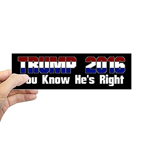 CafePress - Donald Trump President 2016 Bumper Sticker - 10