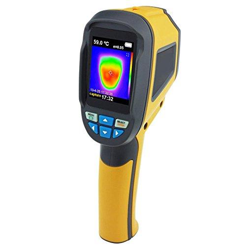 Détecteur de Fuites Thermiques - Hillrong Thermomètre Infrarouge pour Caméra d'imagerie Thermique Infrarouge de Poche HT-02D