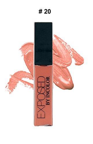 Incolor Exposed Soft Matte Lipgloss Lip Cream – 20