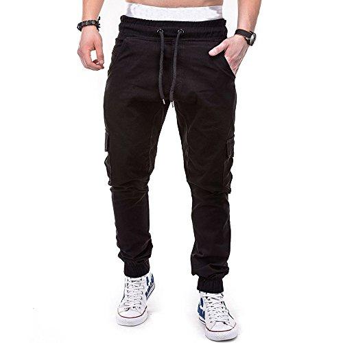 Pantalons Homme Sarouels Pantalons de Jogging Pantalons Jogger Casual Danse Sportwear Baggy Sweat Pants Pantalon de Sport Hiver Pantalons de Survêtem