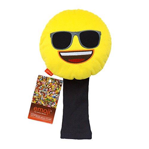 Emoji Sonnenbrille Neuheit Golf Head Cover–Gelb (Neuheit Headcover)