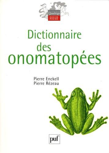Dictionnaire des onomatopes