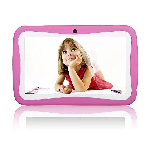 7 Tablet Kinder Zoll (QIMAOO 7 Zoll Kinder Tablet PC 8G ROM-Speicher Android Quad Core 1.2 GHz bilige Tablet für Kids mit Spezialangebot)