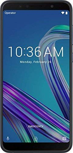 (CERTIFIED REFURBISHED) Asus Zenfone Max Pro M1 (Black, 64 GB) (4 GB RAM) | 5000 mAh Battery (Black)