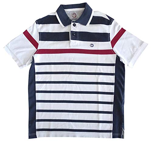 sale retailer 542ea 24b39 MURPHY AND NYE Polo Shirt Patch Piquet Long Sleeves Size S 100% Cotton  Short Sleeves Man Blue/White Stripe 6N5000