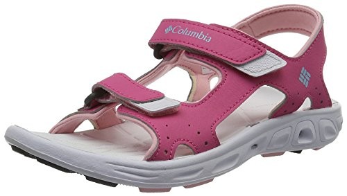 Columbia Mädchen Youth Techsun Vent Trekking- & Wandersandalen, Pink (Wild Geranium, Cupid 656), 39 EU