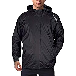 Impermeable Portátil Con Cremallera Frontal Pull-Over Para Hombres Y Mujeres