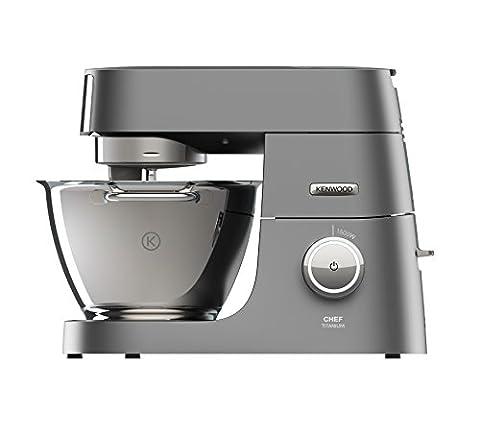 Kenwood Chef Titanium KVC7320S Küchenmaschine, 1.500 W, 4,6 l Füllmenge,