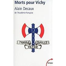 Morts pour Vichy