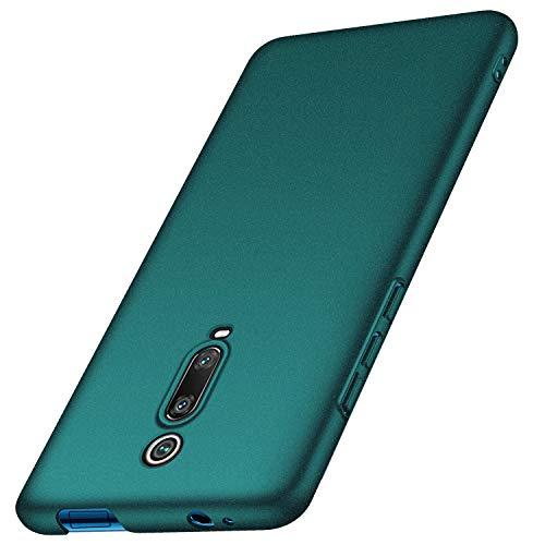 anccer Cover Xiaomi Redmi K20/Redmi 9T, [Alta qualità] [Ultra Slim] Anti-Scratch Hard PC Case Custodia per Xiaomi Redmi K20/Redmi 9T (Ghiaia Verde)