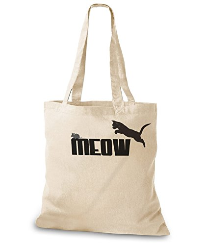 Stylobags Borsa Di Juta / Borsa Meow - Meow Natura