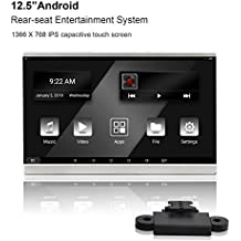 Freeauto universale 31,8cm auto poggiatesta con sistema Android/WiFi/USB/SD Card (1PC)