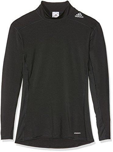 adidas Erwachsene T-Shirt/Tank Tf Base W Mock Longsleeve, Black, S