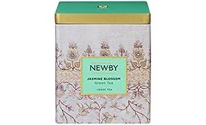 Newby Jasmine Blossom Green Tea Loose Leaf Caddy, 125g