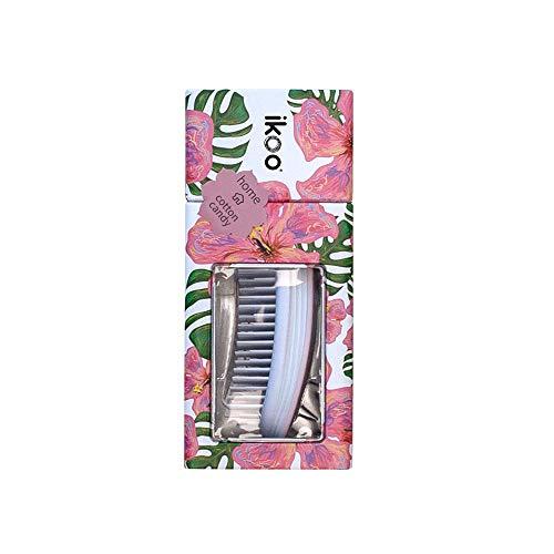 Ikoo Home White Paradise - Detangler Bürste, Brush, Massage Haarbürste, Weiche Borsten, Entwirrbürste Für Lange Haare, Wet Brush, Entwirrungsbürste, Einfaches Entwirren Der Haare, Kämmen Ohne Ziepen