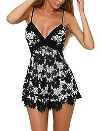 Amazon.it  abito - Chemisier   Vestiti   Donna  Abbigliamento 1b4a4ca014d